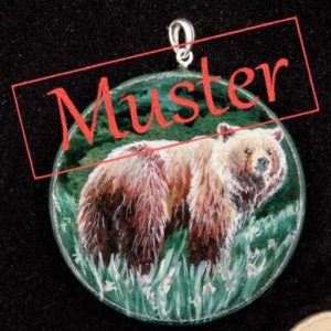 Musterbild für Amulett Krafttier Bär