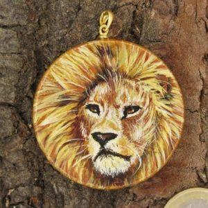 Produktbild Amulett Krafttier Löwe - Unikat Nr. 231