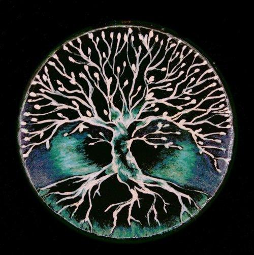 """Musterbild für Amulett """"Lebensbaum"""""""