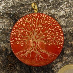 """Produktbild Amulett Lebensbaum """"Der Wärmende"""""""