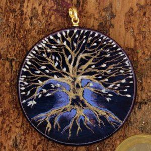 """Produktbild Amulett Lebensbaum """"Der Geheimnisvolle"""" - Unikat Nr. 554"""