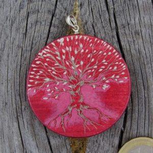 """Produktbild Amulett Lebensbaum """"Die Schöne"""" - Unikat Nr. 557"""
