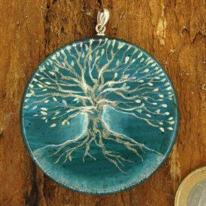 """Produktbild Amulett Lebensbaum """"Der Frische"""" - Unikat Nr. 563"""