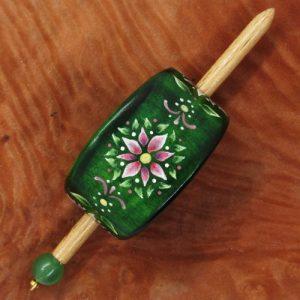 Produktbild Haarspange mit Stift - Unikat Nr. 382